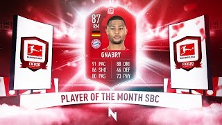 87 BUNDES POTM SERGE GNABRY SBC! - FIFA 20 Ultimate Team