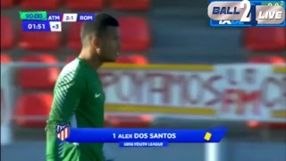 Video Gol Pertandingan Atletico Madrid U-19 vs AS Roma U-19