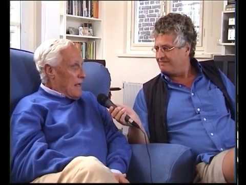 Luc Sala met Willem Oltmans 31aug 2001 laatste Kleurnet uitzending