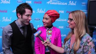 "Owl City & Yuna ""Shine Your Way"" Interview - American Idol Top 10"