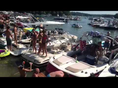 Sunset cove ga Memorial Day 2013 - YouTube Lake Lanier Party