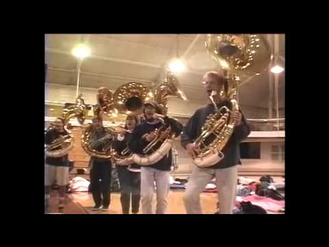 UD Tubas play the JMU Fight Song