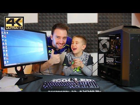 Mio nipote assembla il suo primo PC a 8 anni - BlinkMyPC