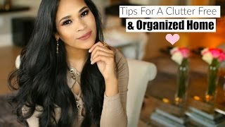 Tips For A Clutter Free & Organized Home - MissLizHeart