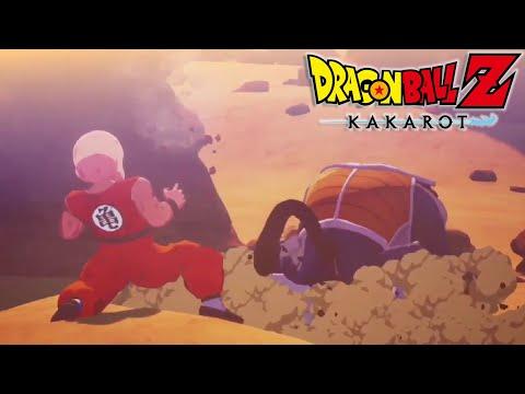 Dragon Ball Z: Kakarot | Yajirobe Cuts Off Vegeta's Tail Cutscene | PS4/XB1/PC