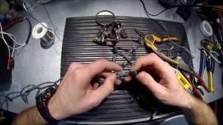 : (LED) standart 120 V AC Noel ışıkları araba aküsü kapalı iş Yapmak için nasıl.