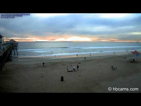 Stunning Huntington Beach Sunset (over 90 minutes of HD beauty)