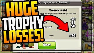 HOW MANY TROPHIES Can You Lose in One Attack in Clash of Clans?