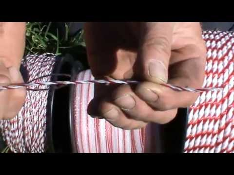 Fencing Equipment - The Differences Between Polytape, Polywire, Polyrope Explained.
