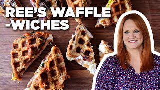 "Ree Drummond Makes 4 Types of ""Wafflewich"" Waffle Sandwiches 