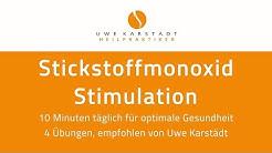 Stickstoffmonoxid Stimulierung, 4 Übungen zur Steigerung der Gesundheit, empfohlen von Uwe Karstädt