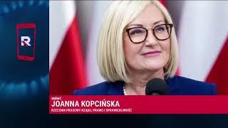 JOANNA KOPCIŃSKA (RZECZNIK RZĄDU) - PRZYSZŁOŚĆ EURO W POLSCE