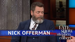 Nick Offerman Considers His