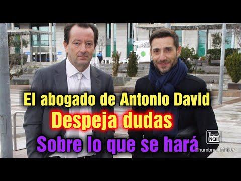EL ABOGADO DE ANTONIO DAVID FLORES DEJA CLARO COMO SE VA A ACTUAR LEGALMENTE