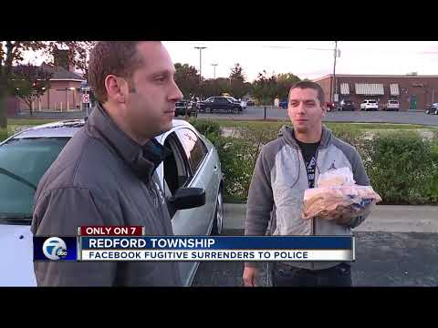 Facebook fugitive speaks with 7 Action News before turning himself in