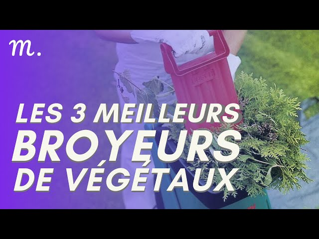 🥇TOP 3 BROYEUR DE VÉGÉTAUX (2020)