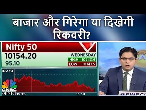 बाजार और गिरेगा या दिखेगी  रिकवरी?   Morning Call   8th March 2018   CNBC Awaaz