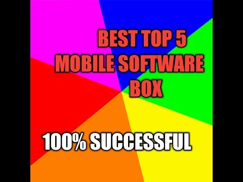 BEST TOP 5       MOBILE SOFTWARE BOX
