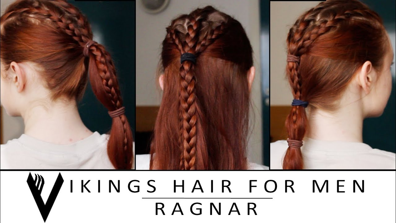 Turbo Vikings Hair Tutorial for Men - Ragnar Lothbrok - YouTube QQ02