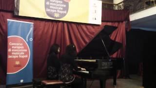 3° Concorso di esecuzione musicale Jacopo Napoli - Lucrezia Merolla Maria Argentiero, piano duo
