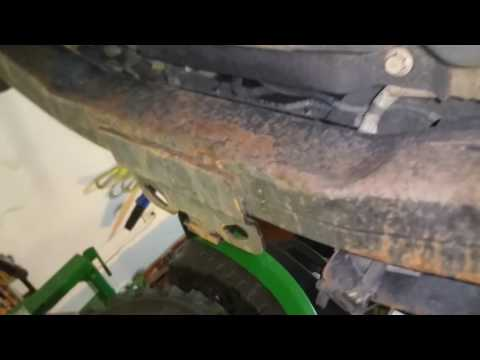 2002 ford excursion 7.3 liter diesel fuel tank removal
