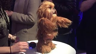 Star Wars Ultimate Co-Pilot Chewie demonstration