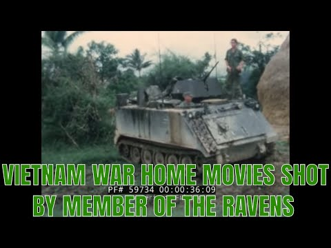 VIETNAM WAR HOME MOVIES SHOT BY MEMBER OF THE RAVENS  59734