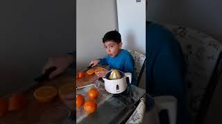 Efe sıkma portakal suyu