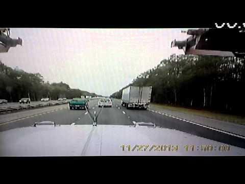 Car hauler crash
