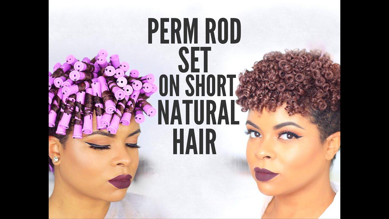 natural hair perm rod set