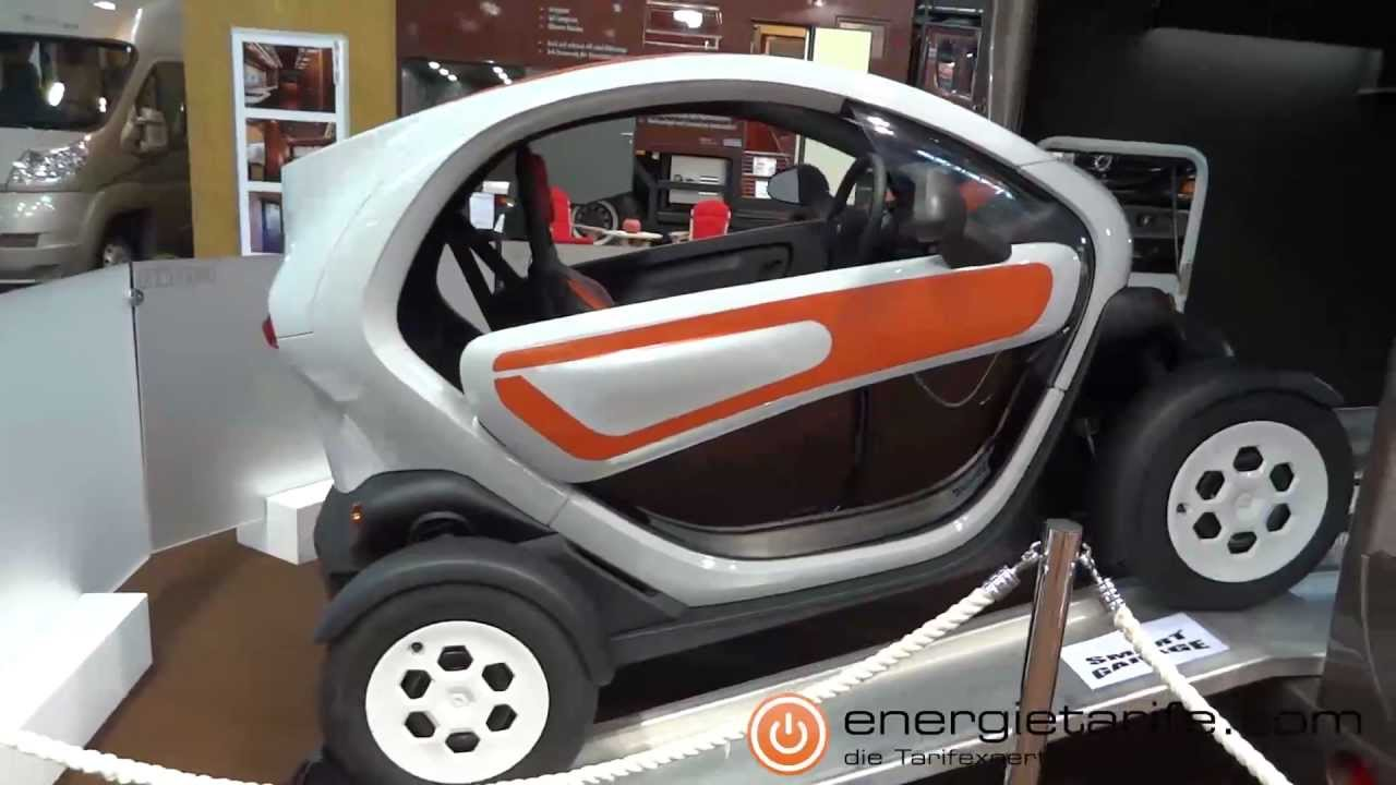elektroauto renault twizy auf dem caravan salon 2012 youtube. Black Bedroom Furniture Sets. Home Design Ideas