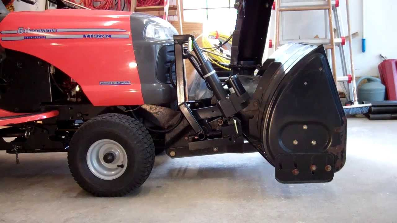 Snowblower Attachment Electric Lift Youtube For Snow Blower Wiring Diagram Premium