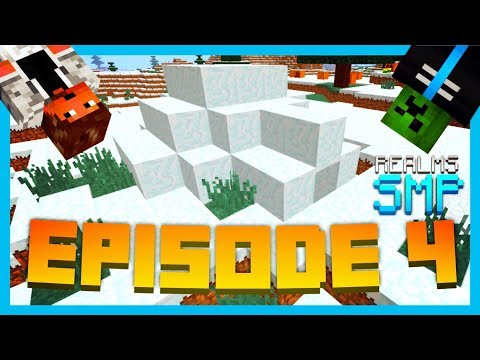 A FROSTY ADVENTURE! - EP.4 // Minecraft PE Unity Realms SMP Ft. DarkAbsolute