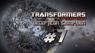 Transformers War for Cybertron Walkthrough - Decepticon Campaign Part 7 w/ Commentary - G1 Breakdown & the Stunticons