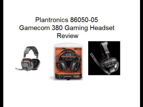 Plantronics Gamecom 380 Review (microphone test and audio