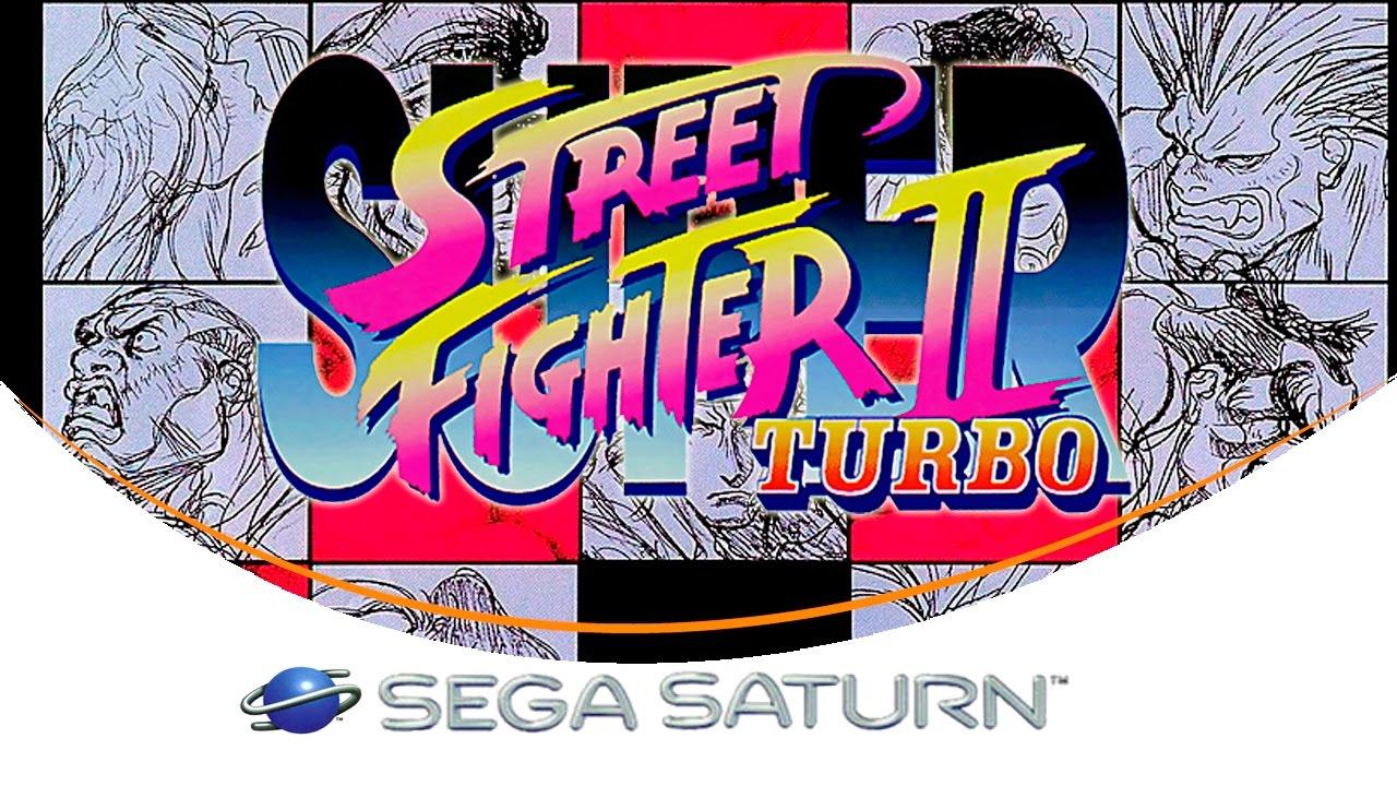 Super Street Fighter Ii Turbo Sega Saturn Youtube