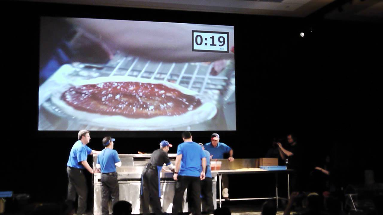 8b01d5dcb17cb Jody Champagne Fastest Pizza Making Competition Domino s Pizza - YouTube