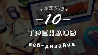 Say Hi | 10 Трендов веб-дизайна за 2015 год