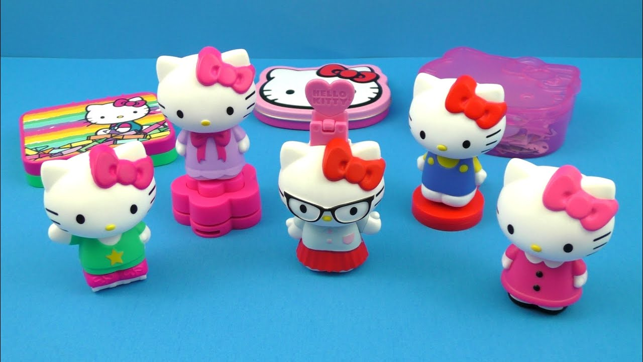 Hello Kitty Mcdonald S Toys : Hello kitty mcdonald s complete set of happy meal