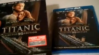 Titanic (1997) Limited 3D Edition - Blu Ray Review and Unboxing