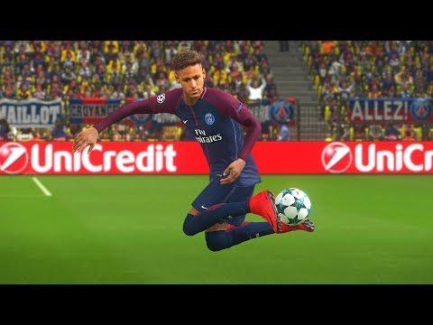 "PES 2018 Neymar Junior Goals & Skills Compilation ""8"""
