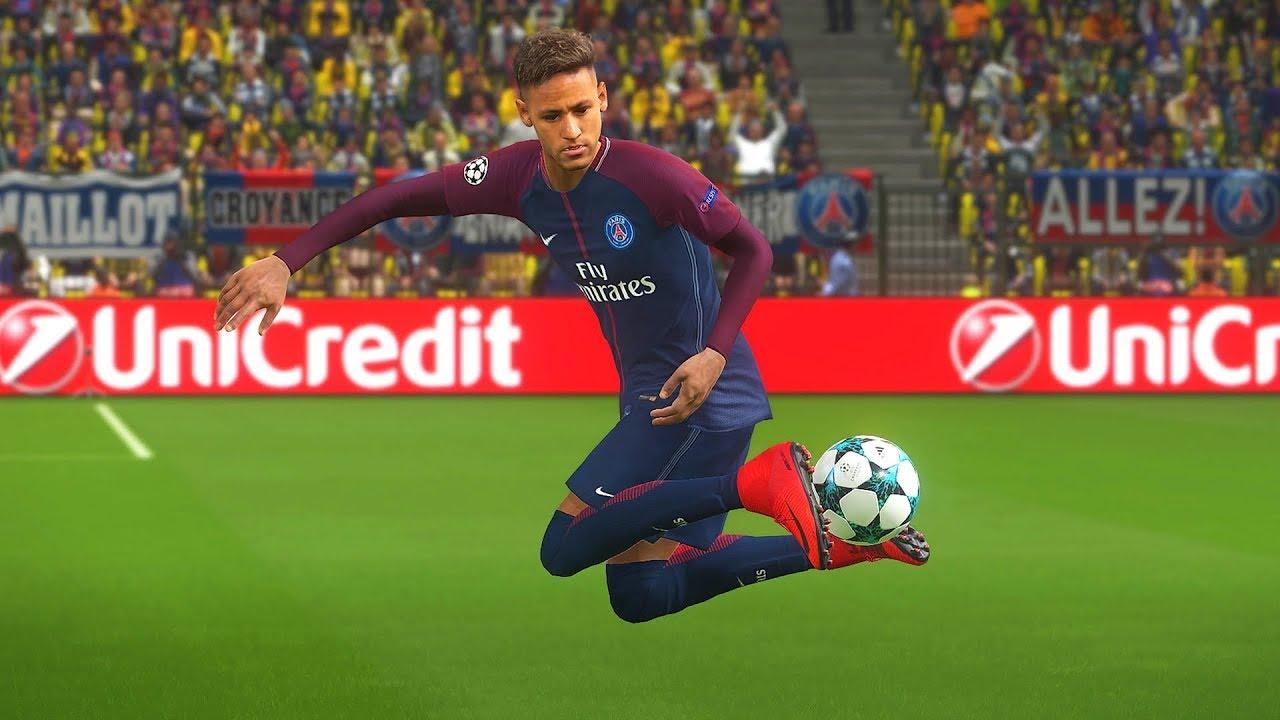 93c10d7c3ed PES 2018 Neymar Junior Goals   Skills Compilation