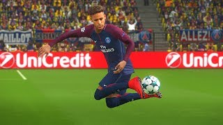 "PES 2018 Neymar Junior Goals & Skills Compilation ""8"""