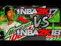 NBA 2K17 VS NBA 2K18! WHY ARE YALL STILL PLAYING THAT GAME?