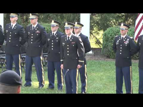 ETSU ROTC Commissioning Ceremony May 8th 2015