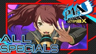 Persona 4 Arena Ultimax - All Characters Instant Kills and Super Moves