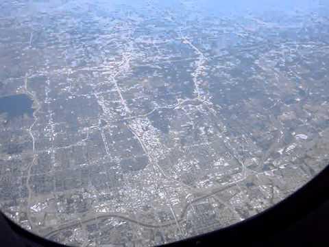 Aerial Oklahoma City USA
