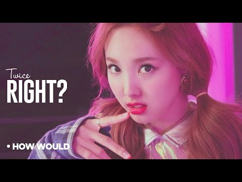 """How Would TWICE Sing - Unnies """"Right?"""" (Line Distribution)"""