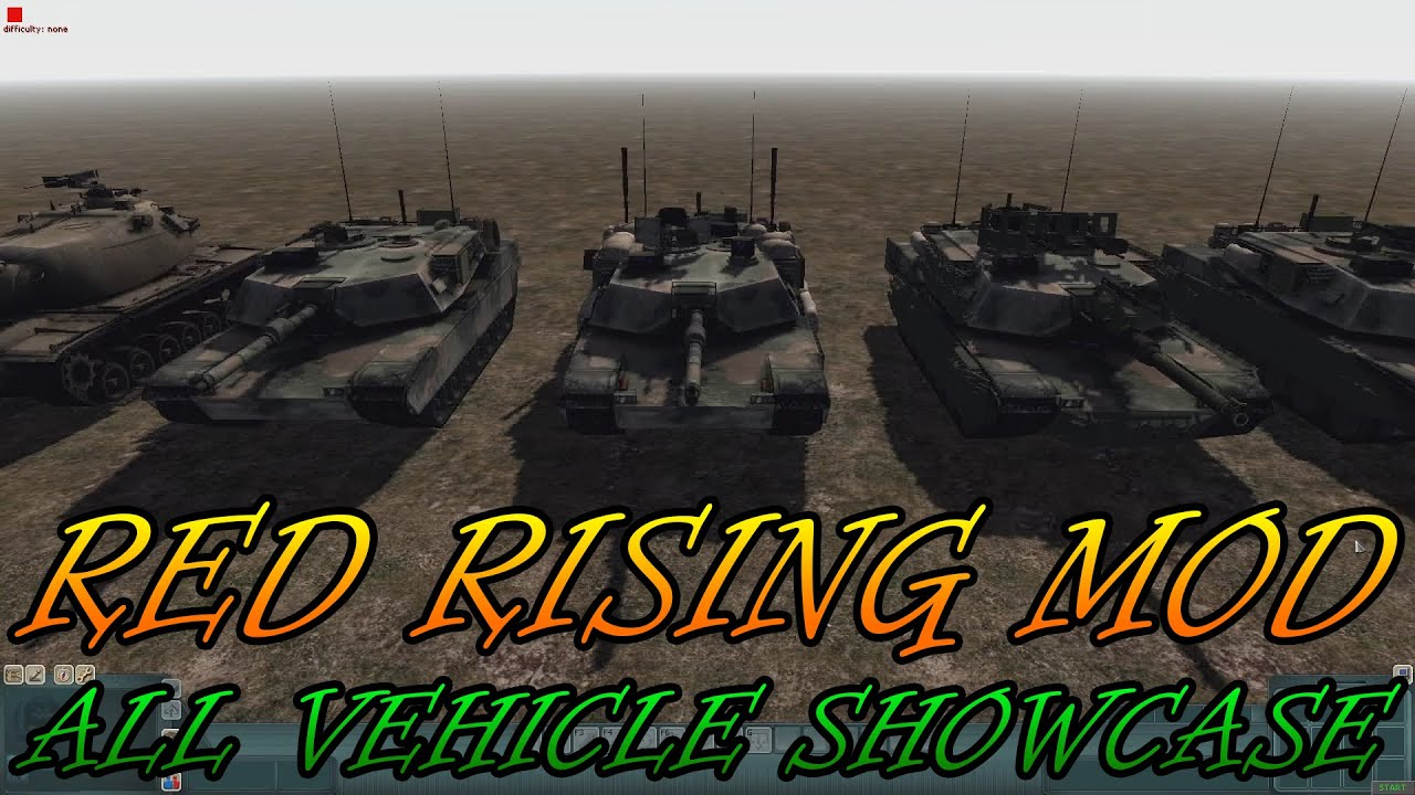 RED RISING МОД ДЛЯ MEN OF WAR ASSAULT SQUAD 2