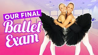 Our Final Ballet Exam | The Rybka Twins